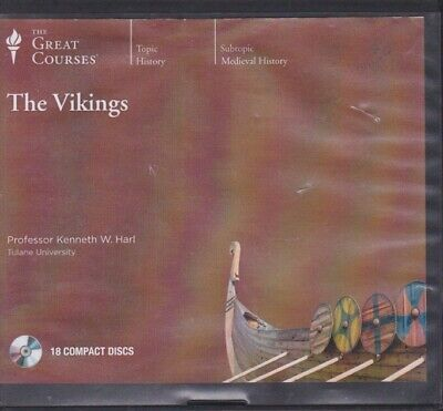 THE VIKINGS by THE GREAT COURSES ~18 CD'S 36 LECTURES