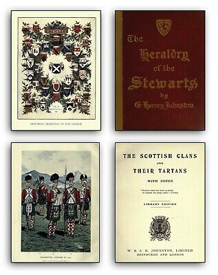 280 Vintage Books about Scotland on DVD - Scottish History Clans Antique Old 242