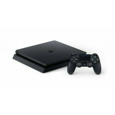 2019 Sony Playstation Ps4 Slim 500Gb Chassis F Black Garanzia 24 Mesi Italia