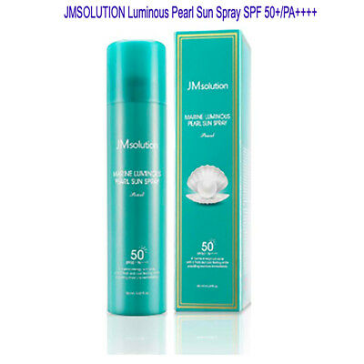 [JM Solution] Sun Spray Marine Luminous Pearl Sun Protection SPF50+PA++++ 180ml