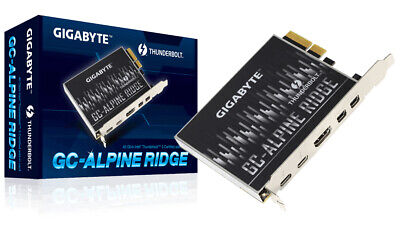 Gigabyte GC-ALPINE RIDGE (rev. 1.0) interface cards/adapter Thunderbolt 3