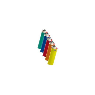 Bic Classic Full Size Lighter Maxi Full Size Assorted Colors 10 Pack