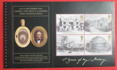 DY30 2019 QUEEN VICTORIA PRINCE ALBERT STITCHED  Commemoratives Pane 3