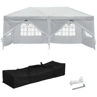 POP Up Waterproof Outdoor Garden Gazebo Marquee Canopy Party BBQ Tent Heavy Duty