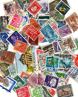 100 Stamps from Various Countries All Different Stamps are as per Scanned image