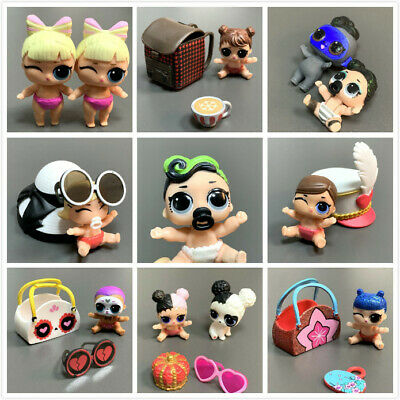 Original Hasbro Littlest Pet Shop LPS Cute Cat Doggy Animal Figure Kids Toy Gift