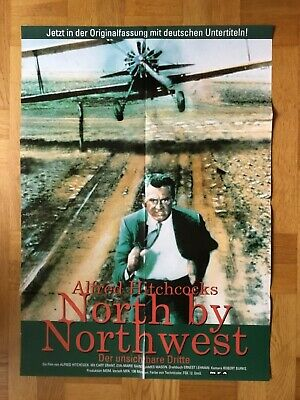 North by Northwest (Kinoplakat ´98) - Cary Grant / Alfred Hitchcock