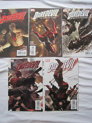 """DAREDEVIL 95 - 99 :""""TO THE DEVIL HIS DUE"""" COMPLETE 5 PART STORY by BRUBAKER,LARK"""