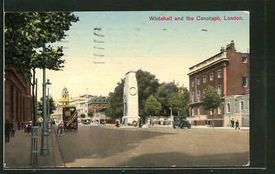 AK London, Whitehall and the Cenotaph 1930