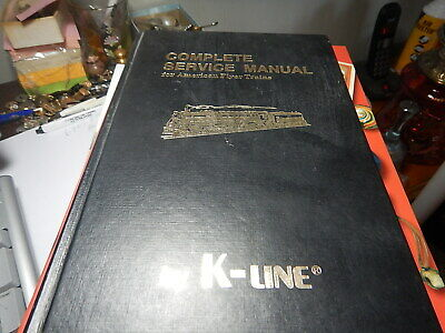 Antique reference book, Complete Service Manual for American Flyer Trains