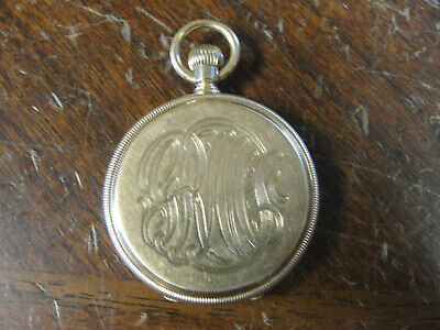 Antique Late 1800's TIFFANY & CO NY 18k Gold Pocket Watch Low Serial # Running