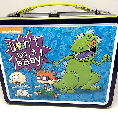 ecd3dfa816 RUGRATS LUNCH BOX With 500 pc Puzzle Don't Be A Baby New piece tin ...