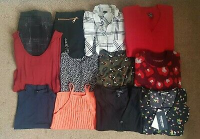 Huge Women's Girls Clothing Bundle Joblot River Island, H&M, New Look - Size 6-8