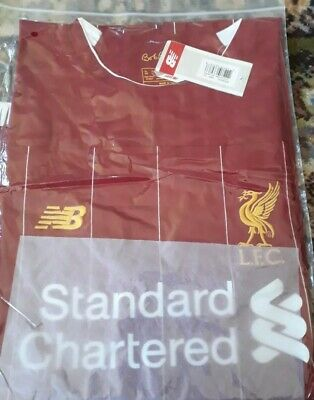 Liverpool Home Shirt 2018 Size XXL Football Jersey. Slim fit XXXL available soon