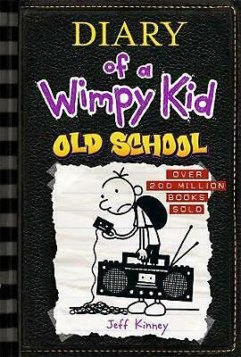 Old School: Diary of a Wimpy Kid (BK10) by Jeff Kinney Hardcover Book Free Shipp