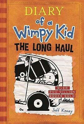 Diary of a Wimpy Kid 9 - The Long Haul by Jeff Kinney Hardcover Book Free Shippi