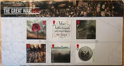 2016 The Great War 2016 pack No. 527 inc minisheet Face Value £9.20