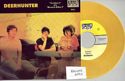 "Deerhunter Vox Celeste 5 Sub Pop Singles Club 7"" Out of print"