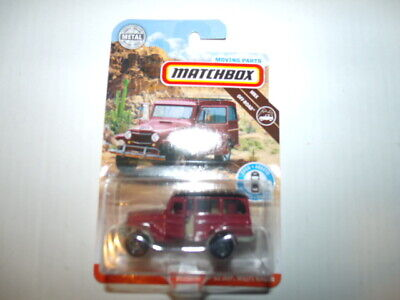 Matchbox 2019 Moving Parts '62 Jeep Willys Wagon VHTF