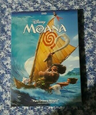 Moana DVD Disney Brand New Movie! 2018 Dwayne Johnson The Rock Free Shipping
