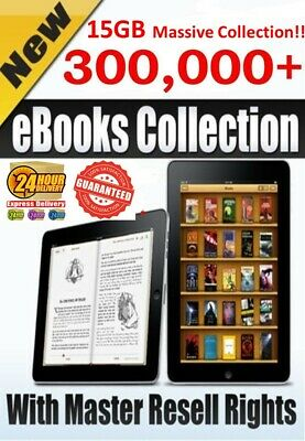 300,000+ EBooks PLR Collection 15GB MRR PDF+2000 Ebooks +10 Valuable Ebooks Free