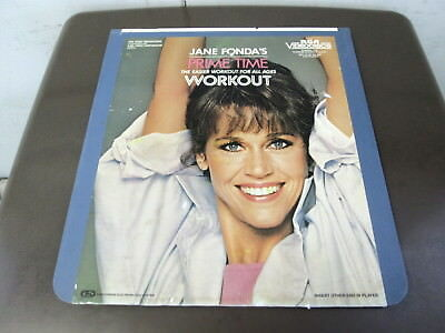 Jane Fonda's Prime Time Workout - A Capacitance Electronic Disc System - CED