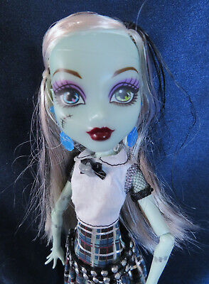 Mattel Monster High Doll Frankie Stein  Loose  - Free Shipping