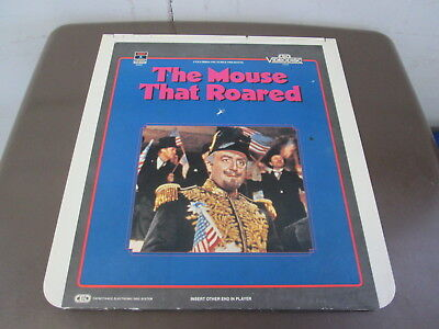 The Mouse That Roared - A Capacitance Electronic Disc System - CED VideoDisc