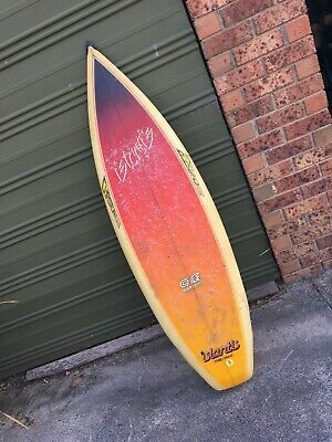 """Islantis Surfboard Russell Francis 5'8"""" Square Tail Stepped Rails Pro Chaser"""