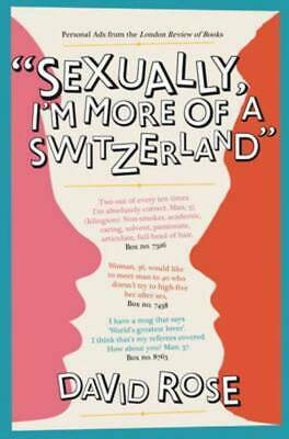 Sexually, I'm more of a Switzerland: personal ads from the London review of