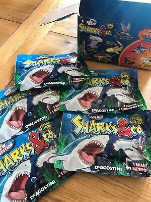 Sharks and co Maxxi Edition New Sealed Blind Bags Bundle X5 Packs Colour Change