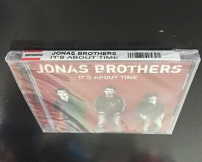 Jonas Brothers - It's About Time Music Cd Authentic Us Version Brand New