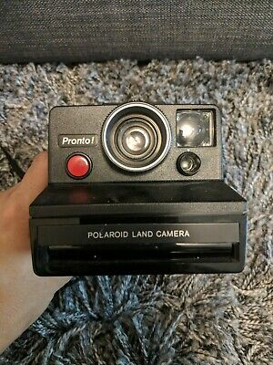 Vtg Polaroid Pronto RF Land Camera Uses SX-70 Film UNTESTED