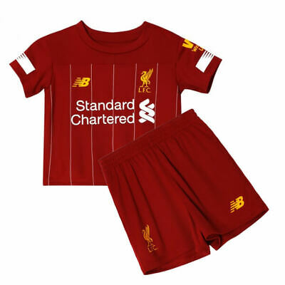 Liverpool FC Kids Child Youth Football Kit 2019/20 Shirt Shorts