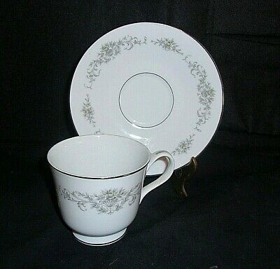 REPLACEMENT MAJESTIC GREENSBORO Coffee Cup & Saucer  LOOKS UNUSED
