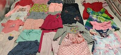 1599423f774a *WOW* Baby Girl Clothes 12 Month Toddler Lot Of 28 Pieces Spring Summer