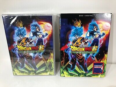 NEW Dragon Ball Super Broly The Movie DVD + Digital Copy WITH Slipcover