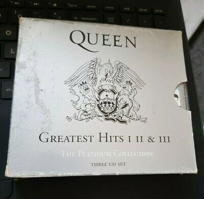 Queen The Platinum Collection Greatest Hits (CD) I II & III