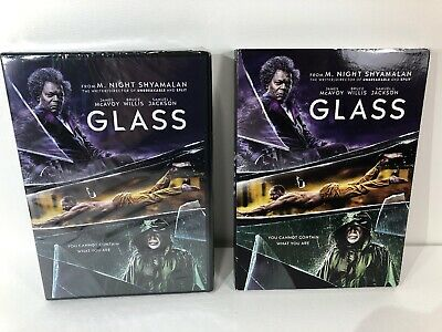 Glass DVD & Slipcover 2019 NEW/SEALED 100% Authentic