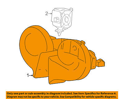 ford oem-horn xw4z13832aa