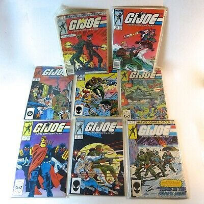 GI JOE Lot 8 Lot Marvel Comic Books #2 , #5,  #7,  #56,  #60,  #61,  #62,  #69