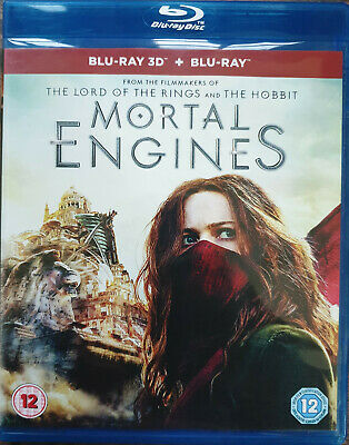 Mortal Engines 2018 Blu-Ray 3D Region Free