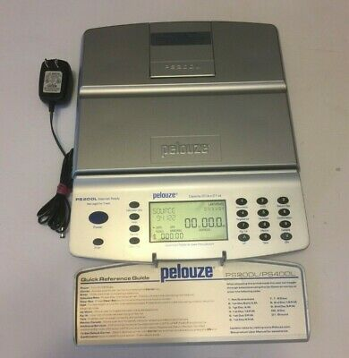 Pelouze PS20DL Internet Downloadable Digital Postal Scale 20-lb Capacity