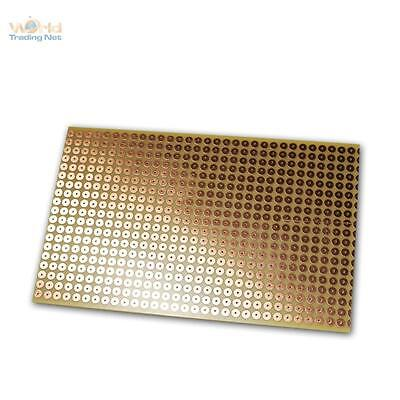 Copper Circuit Board 160x100mm, Breadboard Soldering RM 5,08mm, Copper PCB