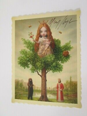 "Tree Show Fetal Trapping in Northern California 5/"" x 6.5/"" MARK RYDEN POSTCARD"