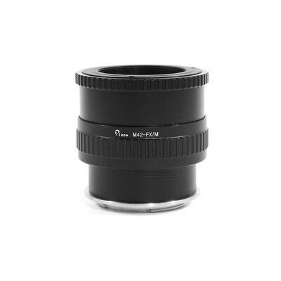 M42-FX / M Adjustable Focusing Macro Helicoid Adapter Tube For M42 To Fujifilm X