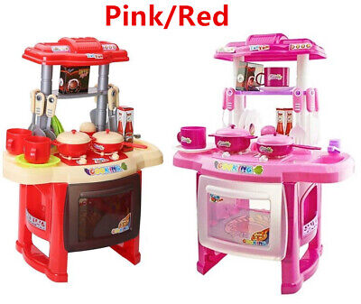 24x Portable Electronic Children Kids Kitchen Cooking Girl Toy Cooker Play Set