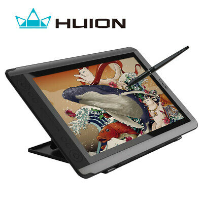 """Huion GT-156 V2 Digital Graphics Drawing Pen Monitor 15.6"""" Touch bar 8192 Levels"""