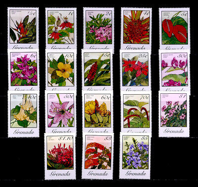 Grenada, British: 1985 Stamp Collection Mint Never Hinged Set