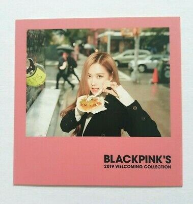 K-POP BlackPink ROSE Limited Polaroid - 2019 Official SEASON'S GREETINGS